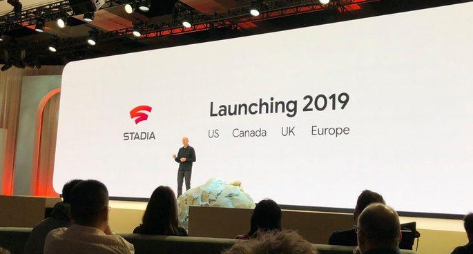 Google Stadia Lançamento