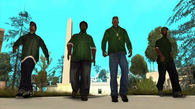 Groove Street GTA SA