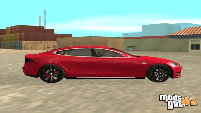 GTA SA carros tesla