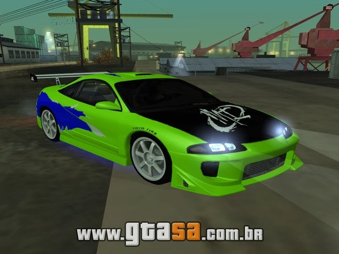 GTA SA mitsubishi carros