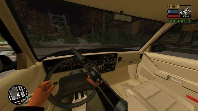 GTA San Andreas dirigir em primeira pessoa