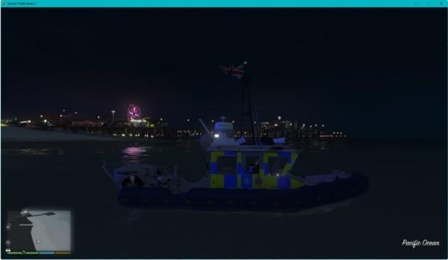 GTA V MOD Polícia UK