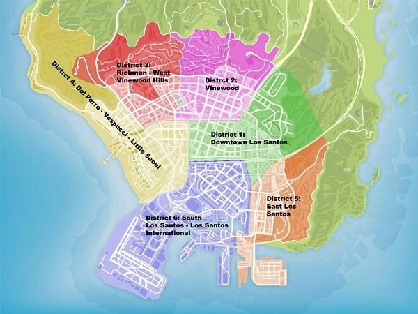 distritos