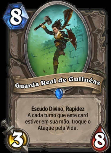 Guarda Real de Guilnéas - Hearthstone