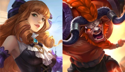 Guinevere e Minotauro - Mobile Legends