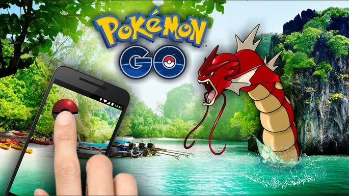 Pokémon GO Gyarados Rojo