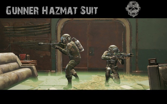 Hazmat Gunners mod Fallout 4
