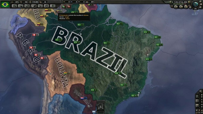 Hearts of Iron 4 Latinoamérica