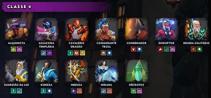 Heróis Dota - Categoria 4