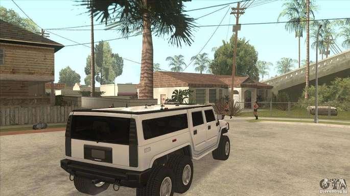 Hummer GTA SA carros