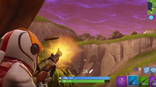 Espingarda de Caça Fortnite
