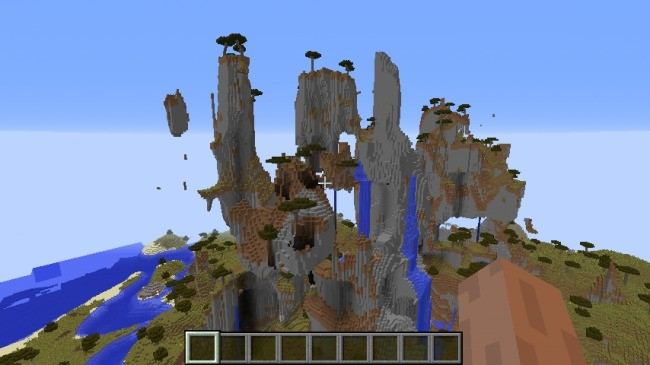 Islas flotantes - Semillas minecraft