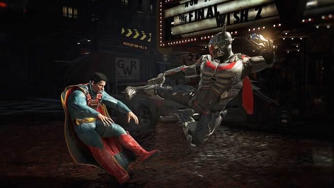 injustice 2 jogo de luta