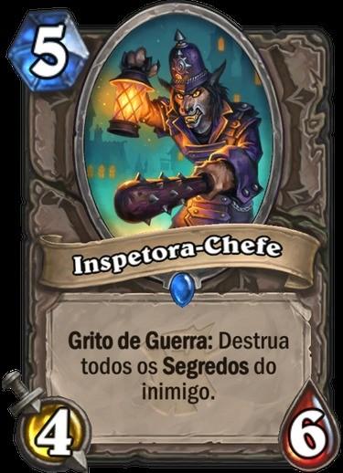 Inspetora-Chefe - Hearthstone