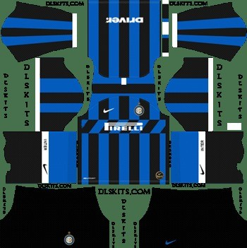 Inter de Milán Dream League Soccer kit