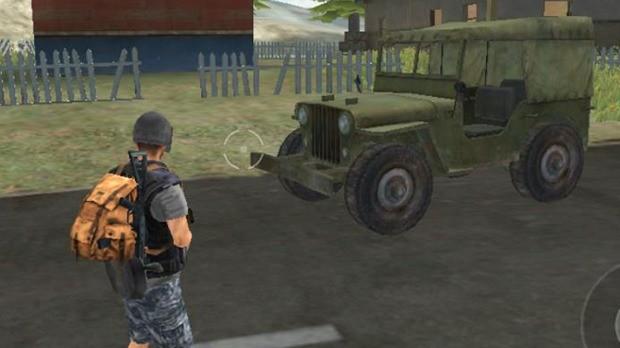 Jipe Militar Free Fire