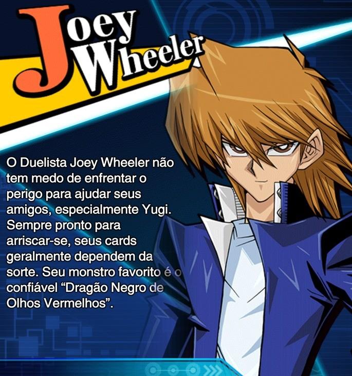 Joey Wheeler habilidades duel links