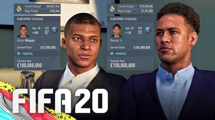 Jogadores promissores modo carreira fifa 20