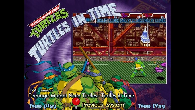 Teenage Mutant Ninja Turtles: Turtles in Time jogos de super-heróis