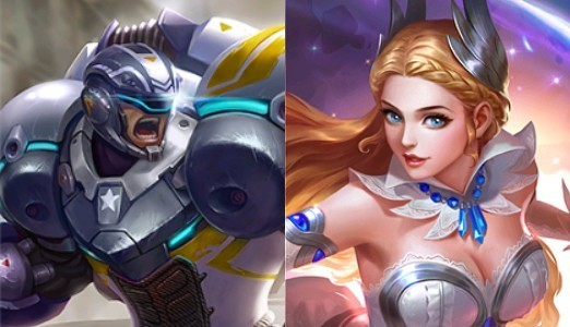 Johnson e Odette - Mobile Legends