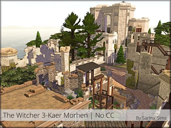 Kaer Morhen The Sims 4 casas