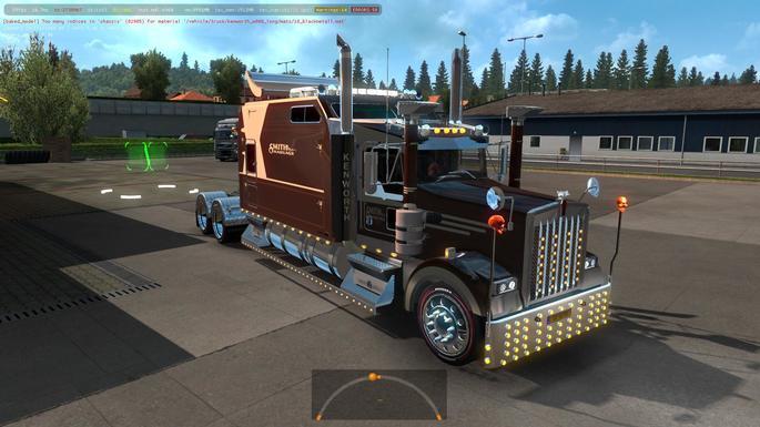 kenworth euro truck