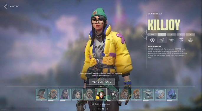 Personagens e habilidades - Valorant
