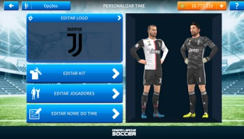 Kits da Juventus 2019/2020 para Dream League Soccer!