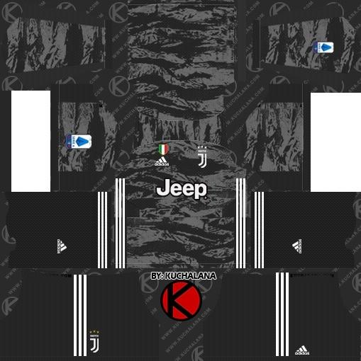 Kit goleiro titular dream league soccer