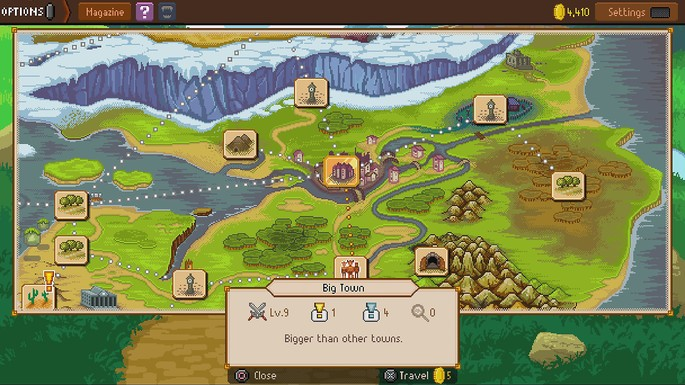Knights of pen and paper 2 mapas