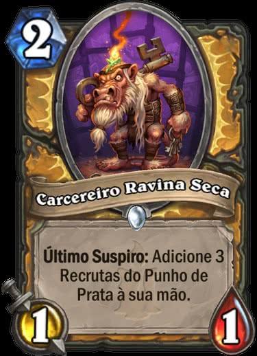 Carcereiro Ravina Seca - Hearthstone