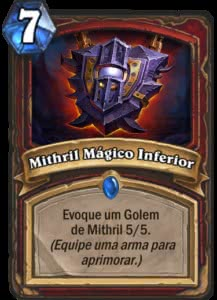 Mithril Mágico Inferior - Hearthstone