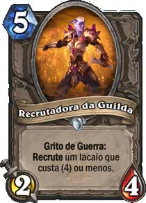 Recrutadora da Guilda - Hearthstone