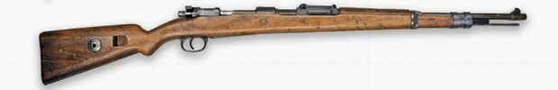 Kar98 - Melhores armas PUBG