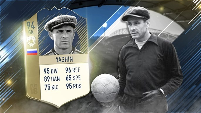Lev Yashin Ícones FIFA 20