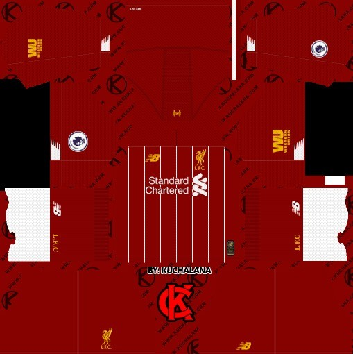 Liverpool Dream League Soccer Kit