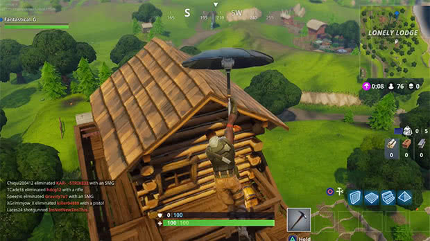 Torre Lonely Lodge Fortnite