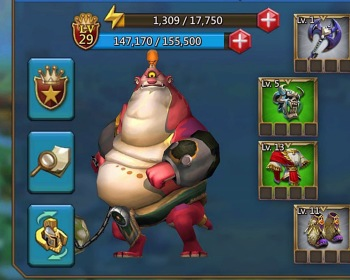Saiba como liberar e melhorar novos Heróis em Lords Mobile
