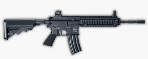 M416 - Melhores armas PUBG