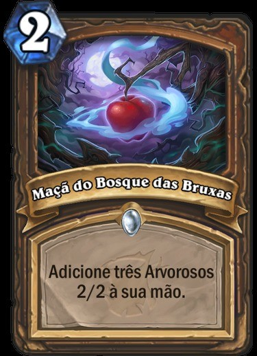 Maça do Bosque das Bruxas - Hearthstone