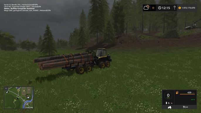 Madeira mais rápido farming simulator