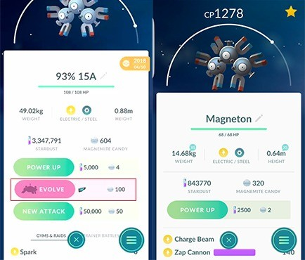 Magnetons - Pokémon GO