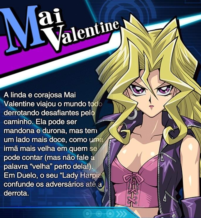mai valentine habilidades duel links