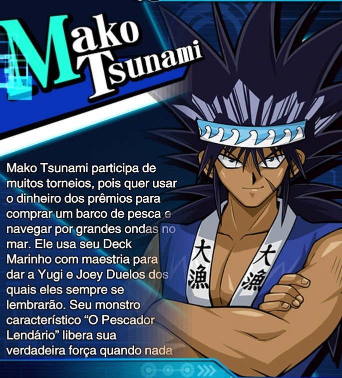 mako tsunami habilidades duel links