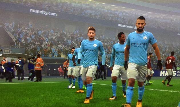 Manchester City Modo Carreira - FIFA 18