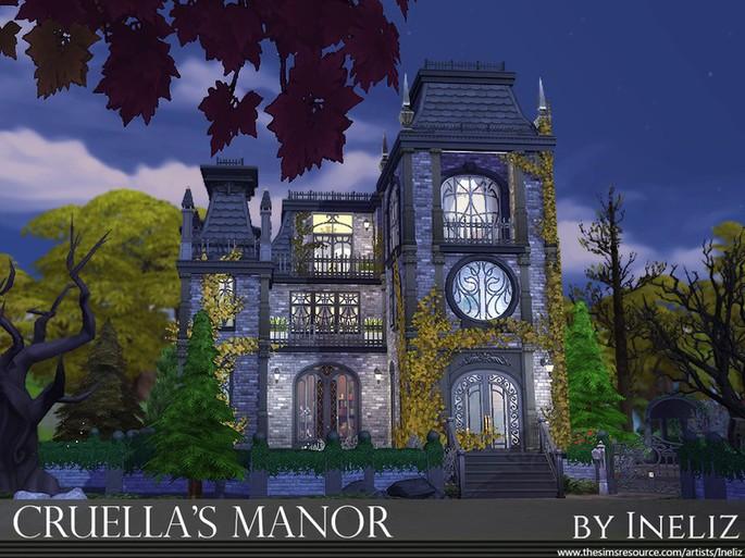 Mansão de Cruella The Sims 4 casas