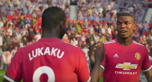 Manchester Utd Modo Carreira - FIFA 18