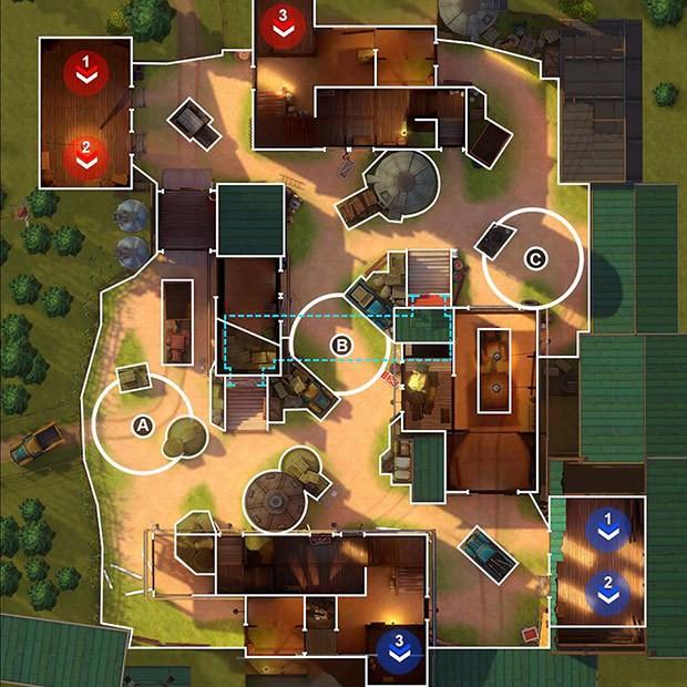 Mapa Complexo Fazenda GOB