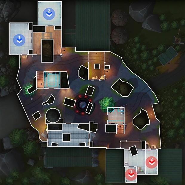 Mapa Fazenda Noite GOB