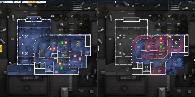 Mapas - Rainbow Six
